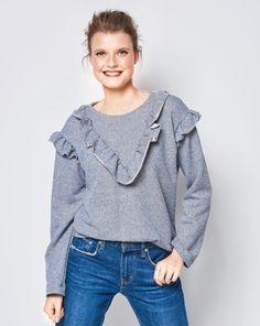 Jeansbluse 062012 #103 Schnittmuster Damen Blusen & Tuniken