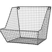 Kids Storage: Wire Wall Storage Bin
