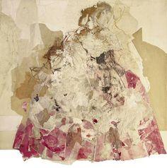 """Saatchi Art Artist Ute Rathmann; Drawing, """"Hommage à Watteau XI"""" #art"""