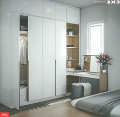 Contemporary # wardrobes # a # built-in . - Contemporary # Wardrobes # a # built-in # S … - Wardrobe Door Designs, Wardrobe Design Bedroom, Bedroom Bed Design, Bedroom Furniture Design, Home Room Design, Kids Room Design, Small Room Bedroom, Closet Designs, Closet Bedroom