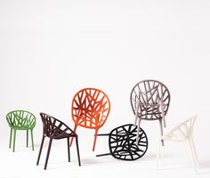 Vegetal Outdoor Chairs by Ronan and Erwan Bouroullec, 2008