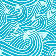 Waves - seamless texture
