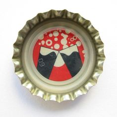 Coca-Cola Brasil promotional toast bottle cap.