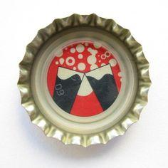 Coca-Cola Brasil promotional toast bottle cap.
