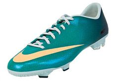 NEW NIKE MERCURIAL VICTORY IV FG Soccer Cleats WOMENS Atomic Teal Melon  #Nike