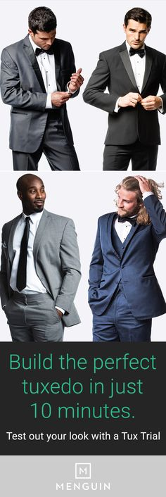 1000 images about mens fashion on pinterest trucker for The tux builder