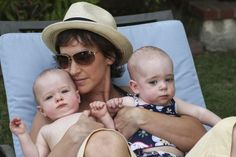 Family is adorable! Mom with twins!   #Lgbtparents #twins #love #lgbtfamilies #kids #parents #family