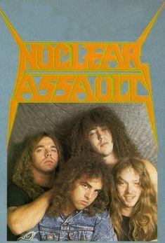 Heavy Metal Rock, Heavy Metal Bands, Black Metal, Rock Music, My Music, Nuclear Assault, Extreme Metal, Metal Albums, Punk