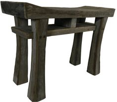 Rustic Barnwood Bench - Reader's Gallery - Fine Woodworking