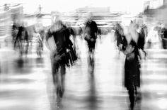Un Matin Hivernal by Paul Surdulescu on Art Limited Art Illustrations, Illustration Art, Distortion Photography, Weird Things, Mental Illness, Blur, Impressionism, Documentary, Wallpaper Backgrounds
