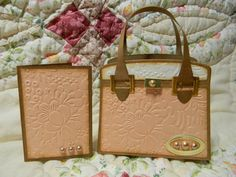 Tonic Kensington Handbag Die set- by Lizzy Coppus
