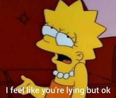 Meme Dos Simpsons, The Simpsons, Lisa Simpson, Homer Simpson Meme, Simpson Tumblr, Icons Tumblr, Simpsons Drawings, Response Memes, Current Mood Meme