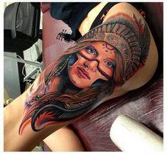 52 Tatuagens de Índios para se inspirar