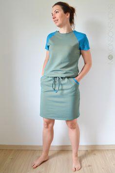 Bethioua Candy dress in Zonen 09 fabric by Nononsonsmoms