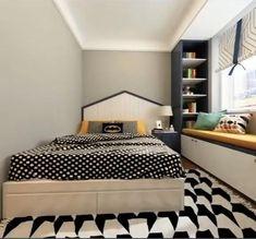Small Room Design Bedroom, Small House Interior Design, Teen Bedroom Designs, Bedroom Furniture Design, Room Ideas Bedroom, Home Room Design, Diy Furniture, Decor Room, Diy Bedroom