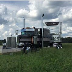 Peterbilt custom 389 bull hauler TULSA TIME
