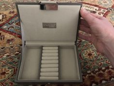 travel jewelry box from the container store