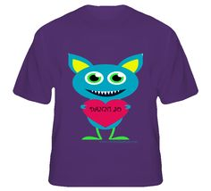BLUE MONSTER T Shirt  IN STOCK - STARTING AT $19.95  AVAILABLE IN MULTIPLE COLORS AND SIZES