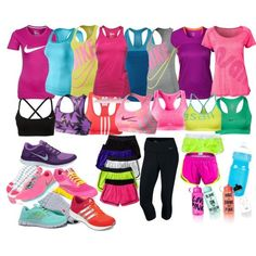 training by danielalouise on Polyvore tiffany free runs 3 ,tiffany blue nikes outfit for runner, all nike shoes for over 53% off