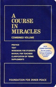 A Course in Miracles is a book to study your entire life. I've been a student of the Course for almost 20 years.