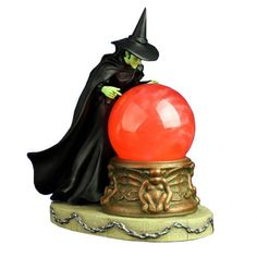 Wicked Witch Red Swirl Crystal Ball Snowglobe - http://tmblr.co/ZPNP8u1PTIR2d