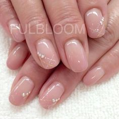 french nails colour Polka Dots in 2020 Classy Nails, Stylish Nails, Simple Nails, Nude Nails, Pink Nails, My Nails, French Nails, Bridal Nails, Nagel Gel