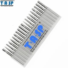 17.99$  Buy now - TASP 20 Pieces Tungsten Carbide Rotary Burrs Set  for Accessories Milling Cutter Drill Bit Engraving Bits  #buyonline