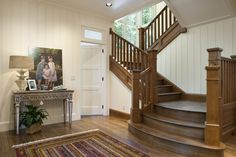 Old wood stair case!  <3