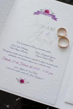 ¿Cuál es el tiempo ideal para enviar las invitaciones de tu boda? Te lo contamos.    #Matrimoniocompe #Organizaciondebodas #Matrimonio #Novios #TipsNupciales #CaminoAlAltar #MatriPeru #BodaPeru #InvitacionesDeMatrimonio #PartesDeMatrimonio Place Cards, Place Card Holders, Formal Invitations, Chore List