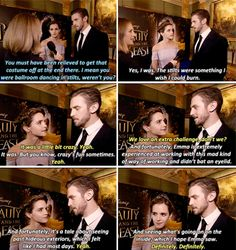Emma Watson and Dan Stevens - Beauty and the Beast cast (bless. Disney Love, Disney Magic, Enma Watson, Beauty And The Beast Movie, Dan Stevens, Tale As Old As Time, Live Action Movie, Oui Oui, Disney And Dreamworks