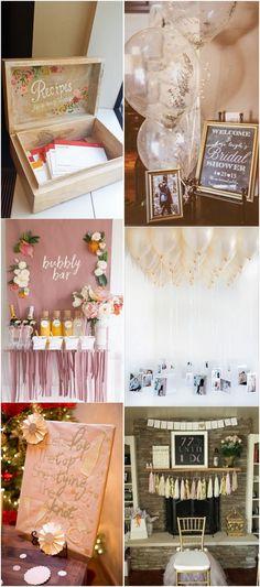 bridal shower ideas #wedding #bridalparty #bridalshower