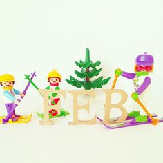 今日から2月⛄❄ もう1ヶ月終わっちゃったよ…早すぎるー(^-^;) #playmobil #toy #Snow #Ski #February #プレイモービル #プレモ #プレモビ #2月 #スキー #雪