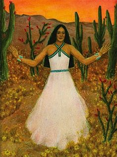 Estsanatlehi, Native American Goddess of Change