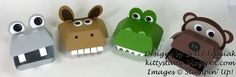 Hamburger Box Critters by kittystamp - Cards and Paper Crafts at Splitcoaststampers