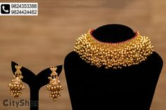Gold Jewelry Design In India Code: 6299371376 Antique Jewellery Designs, Gold Jewellery Design, Accessories Jewellery, Fashion Accessories, Gold Jewelry, Antic Jewellery, Oxidised Jewellery, Indian Jewelry Sets, Indian Wedding Jewelry