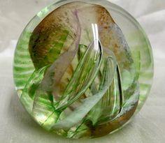 BEAUTIFUL CAITHNESS GLASS PAPERWEIGHT FIESTA ALASTAIR MACINTOSH