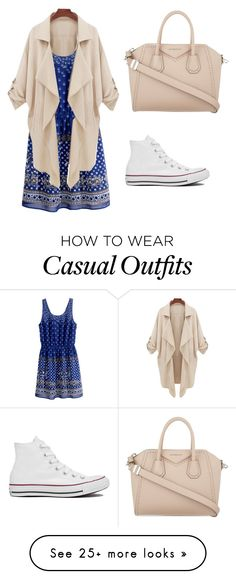 """Casual Shopping Day"" by izzy-maddi on Polyvore featuring H&M, Converse and Givenchy"