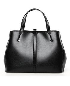 84c3c730192 Oil Wax Leather Casual Tote Handbags