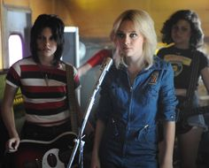 Everyone, and definitely every gay gal, knows about Joan Jett and her history with The Runaways. But the new The Runaways film is as much bandmate Cherie Currie's story as Jett's. In a new interview with Spin, Currie talked about the movie and the myth of the world's first all-girl rock band.     The movie with Kristen Stewart as Joan and Dakota Fanning as Cherie is based on the memoir Neon Angel: The Cherie Currie Story, which was recently revised and rereleased. The book recounts Currie's…