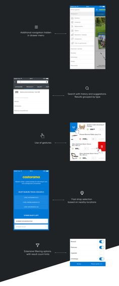 Castorama Mobile APP on Behance