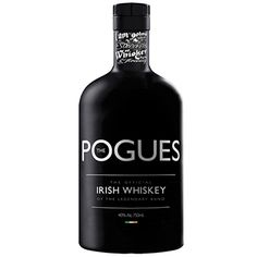 The Pogues are  releasing  a whiskey and of course it has to be a premium. In fact it's Irelands highest malt whiskey.