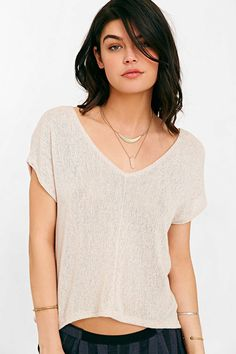 Project Social T Sweet Jane Top - Urban Outfitters