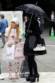 Tokyo fashion - there are many styles described in this link Japanese Street Fashion, Tokyo Fashion, Harajuku Fashion, Rock Fashion, Mode Harajuku, Estilo Harajuku, Harajuku Girls, Alternative Outfits, Alternative Fashion