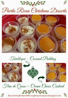 Puerto Rican Christmas Desserts {Tembleque and Flan} Discovering The World Through My Son's Eyes