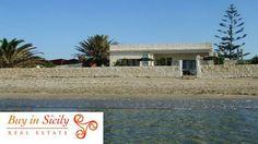 Fantastic villa on the beach in Porto Palo Sicily... http://www.buyinsicily.com/case-in-vendita-sicilia/acquisto-casa/sicilia/villa-sulla-spiaggia-a-portopalo-di-capo-passero.html