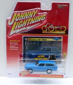 1:64 JOHNNY LIGHTNING CLASSIC GOLD RELEASE 2A - (2016) - 1972 CHEVY VEGA WAGON #JohnnyLightning #Chevrolet