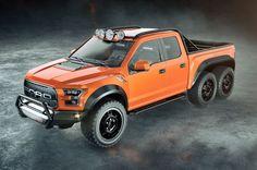 Esta é uma Ford F-150 Raptor de 600 cavalos e tração 6x6... Porque sim! - TecMundo
