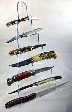 Plastic Knife Display