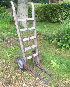 Vintage Wooden Slingsby Sack Barrow Truck - www.lovinglymadeltd.co.uk