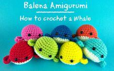 Piccola Balena Amigurumi | How to crotchet a little whale